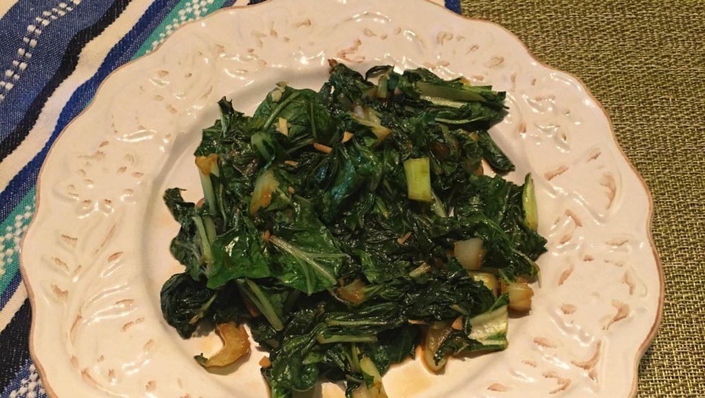 Simple Stir-Fry Bok Choy with Garlic