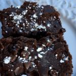 Easy Fudgy Black Bean Brownies
