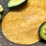 Corn tortillas, lime, and avocado